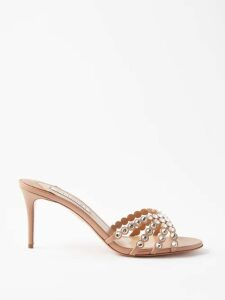 Raey - Asymmetric Ditsy Floral Print Silk Dress - Womens - Pink Print