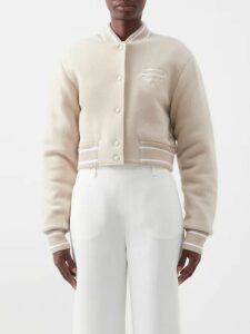 Raey - V-neck Crinkled-silk Midi Slip Dress - Womens - Orange