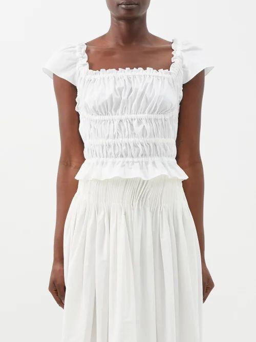 Balenciaga - Flap Scarf Trim Logo Leather Bag - Womens - Black Multi