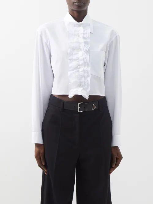 Dragon Diffusion - Grace Woven Leather Basket Bag - Womens - Grey