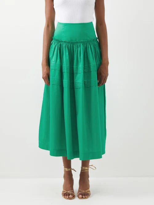 Dragon Diffusion - Grace Woven Leather Basket Bag - Womens - Black