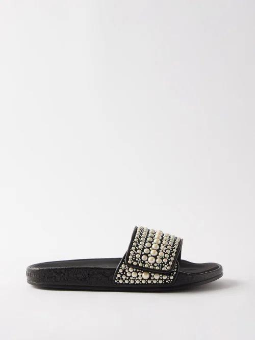 Dragon Diffusion - Woven Leather Basket Bag - Womens - Tan