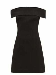 Marine Serre - Holographic Leather Tote - Womens - Black Multi