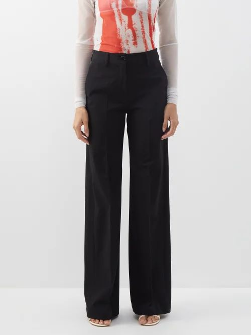 Dragon Diffusion - Cannage Woven Leather Tote Bag - Womens - Tan White