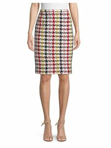 Multicolored Wool Blend Skirt