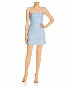 French Connection Whisper Tie-Back Gingham Mini Dress - 100% Exclusive