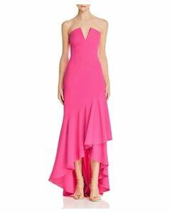 Jill Jill Stuart Strapless High/Low Gown