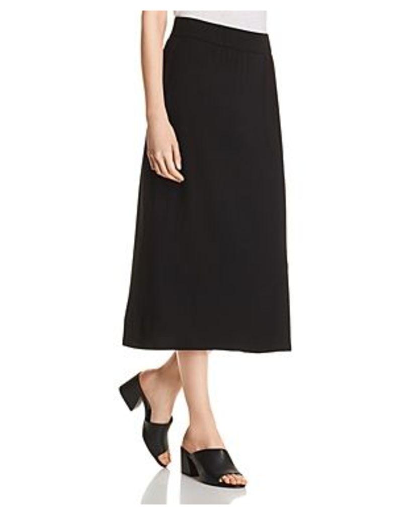 Eileen Fisher A-Line Midi Skirt