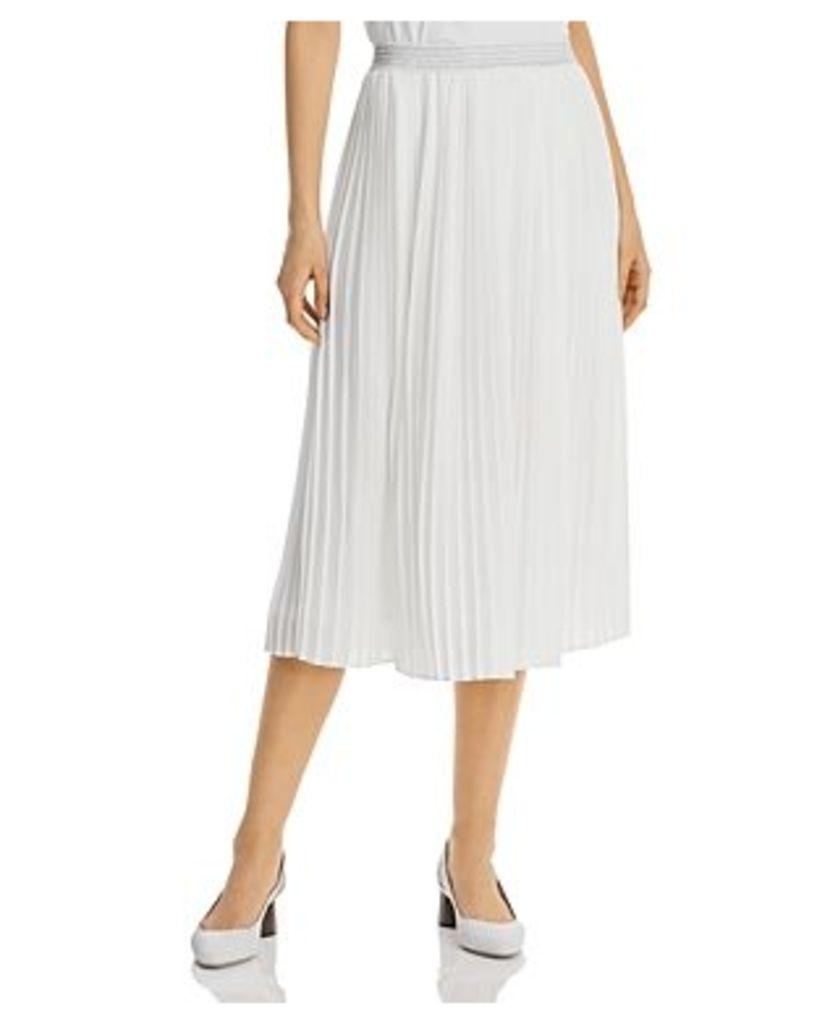 Basler Pleated Midi Skirt