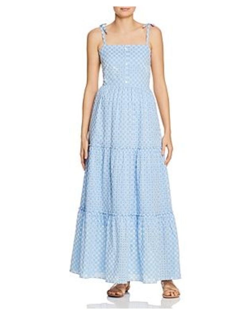 Paloma Blue Eliza Eyelet-Lace Dress