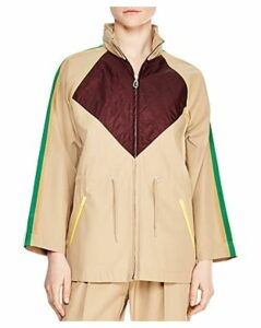 Sandro Katerina Color-Blocked Coat