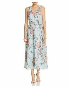 nanette Nanette Lepore Tie-Shoulder Floral Dress