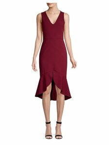 Blakesley Split-Front Sheath Dress