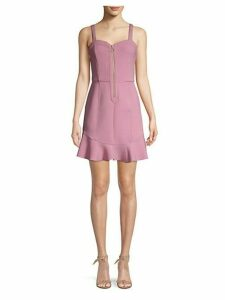 Ruffle A-Line Dress