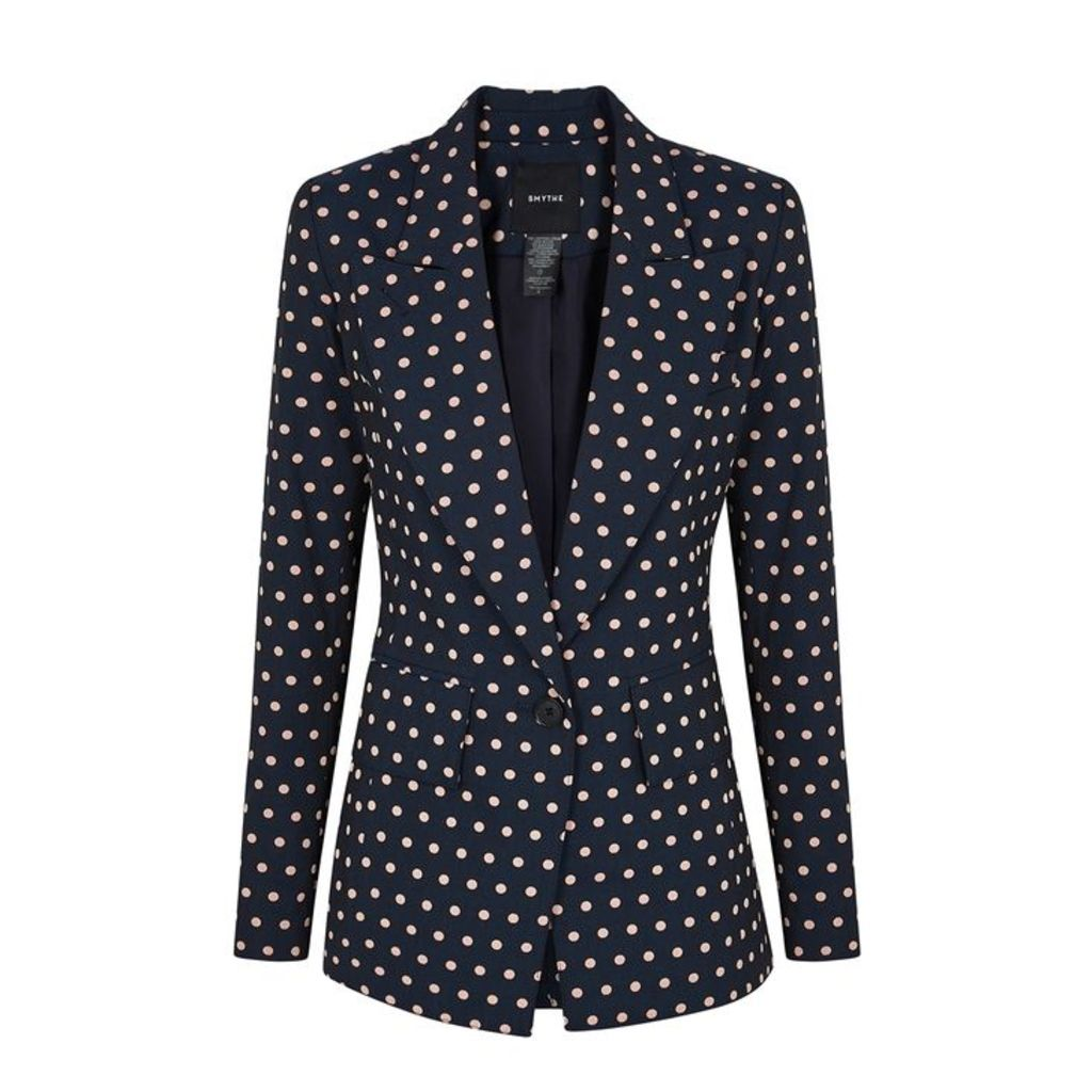 Smythe Polka-dot Cotton-blend Blazer