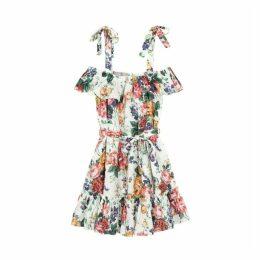 Zimmermann Allia Floral-print Linen Mini Dress