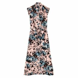 Erdem Sebla Floral-print Silk Dress