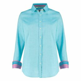 Koy Clothing - Ladies Turquoise 'Kisumu' Shirt