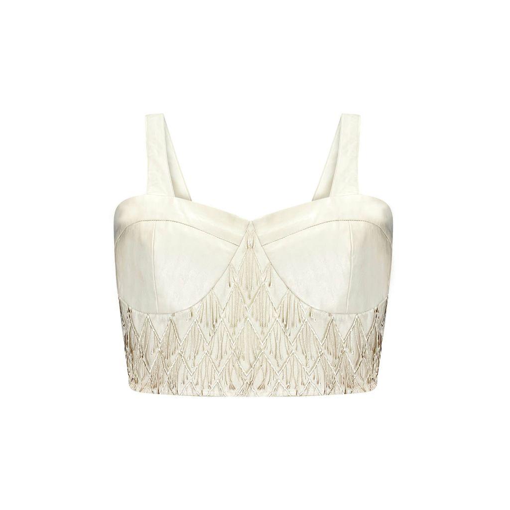 WtR - Sky Nude Wool Pencil Skirt