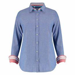 Koy Clothing - Ladies Navy Blue 'Kitui' Shirt
