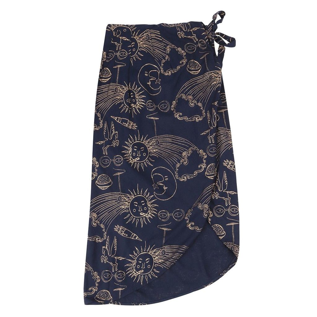McIndoe Design - Night Sky Wrap Skirt