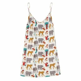 McIndoe Design - Jungle Print Slip Dress