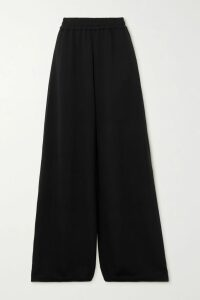 Anjuna - Ruffled Open-back Printed Cotton-voile Midi Dress - Fuchsia