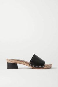 Isabel Marant - Lazalea Floral-print Cotton-voile Mini Pareo - Black