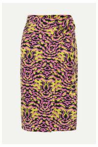 Etro - Printed Silk-chiffon Pareo - Pink