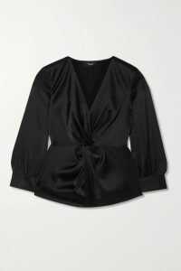 Zimmermann - Veneto Perennial Ruffled Broderie Anglaise Gauze And Lace Dress - Black