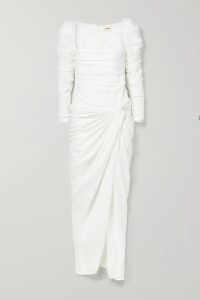 Missoni - Patchwork Crochet-knit Mini Dress - Purple