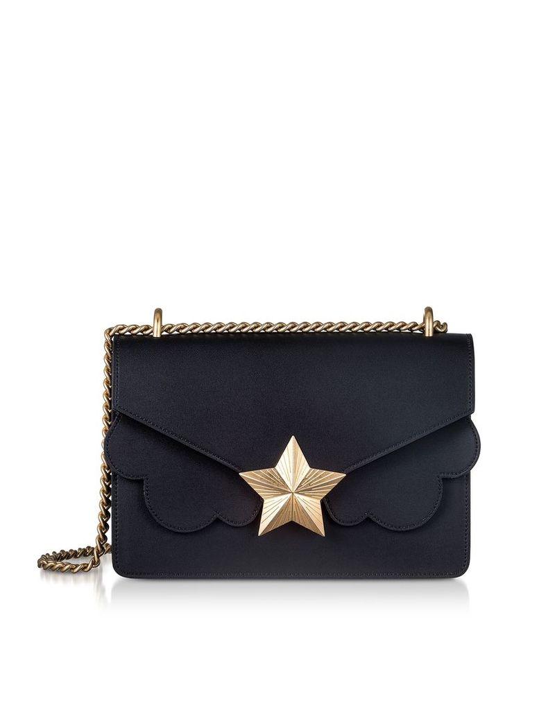 Les Jeunes Etoiles Designer Handbags, Genuine Leather New Vega Medium Shoulder Bag