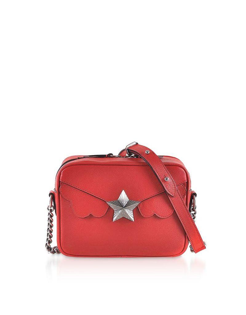 Les Jeunes Etoiles Designer Handbags, Vega Camera Bag w/Star