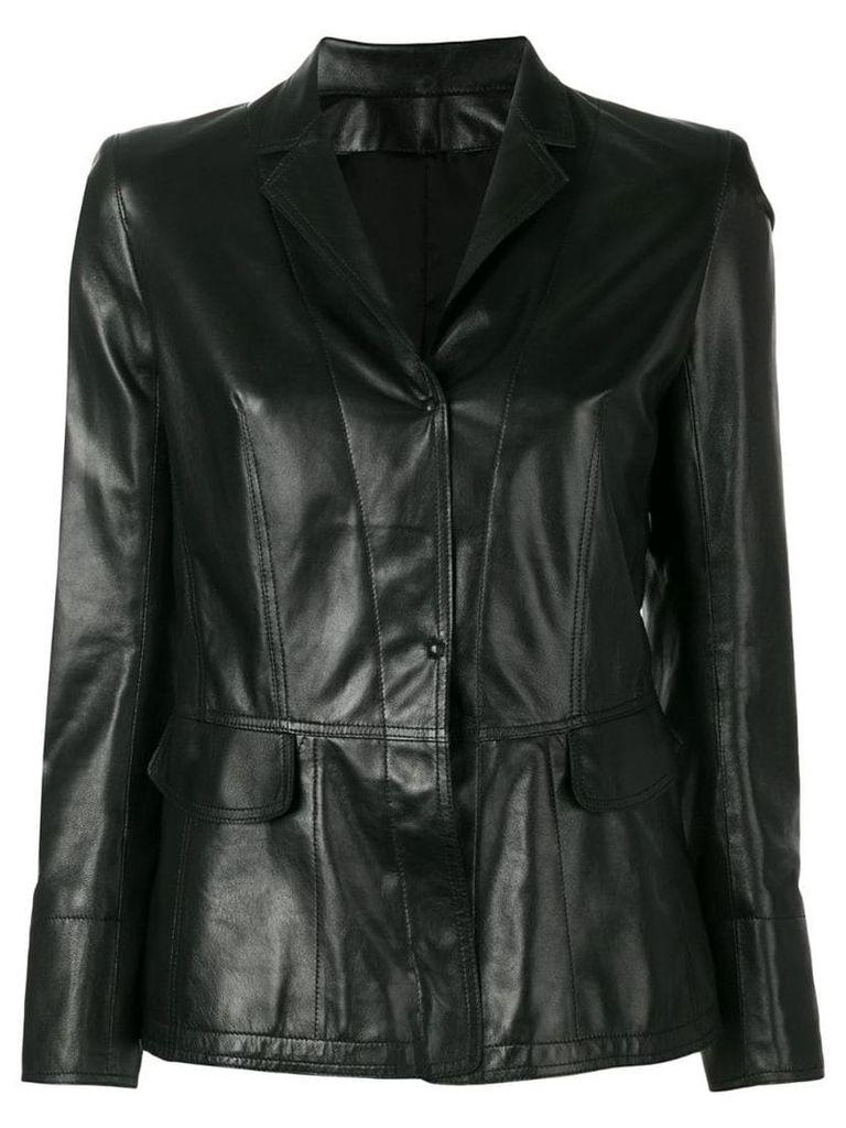 Sylvie Schimmel fitted blazer - Black