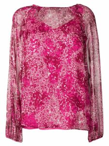 Essentiel Antwerp floral print blouse - Pink