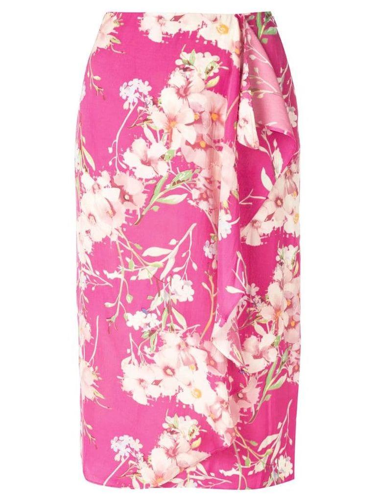 Essentiel Antwerp Silliam patterned skirt - Pink