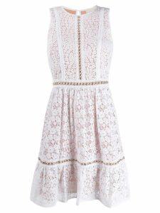 Michael Michael Kors floral lace dress - White