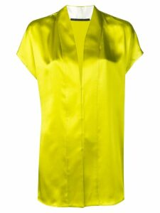 Haider Ackermann v-neck blouse - Green