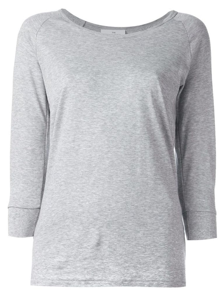 The White Briefs three-quarters sleeved T-shirt - Grey