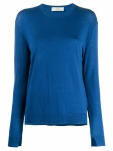 Pringle Of Scotland simple jumper - Blue