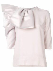 Dice Kayek folded blouse - Pink
