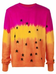 The Elder Statesman cashmere Ursa Major/Ursa Minor sweater - Pink