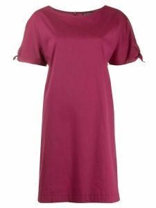 Antonelli tie sleeve dress - Red