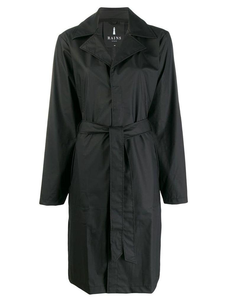 Rains simple raincoat - Black