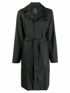 Rains simple raincoat - Black