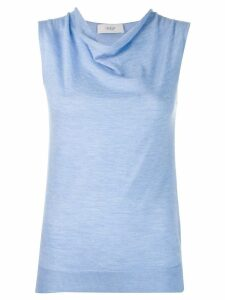 Pringle Of Scotland light knit tank top - Blue