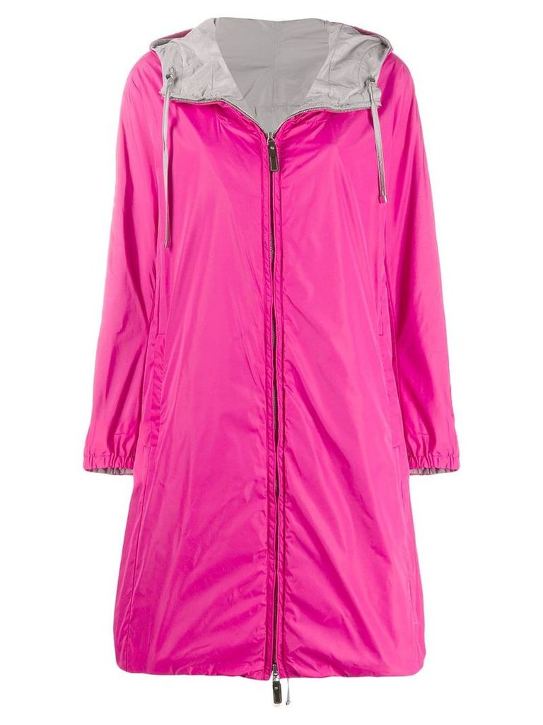 Max Mara hooded midi coat - Pink