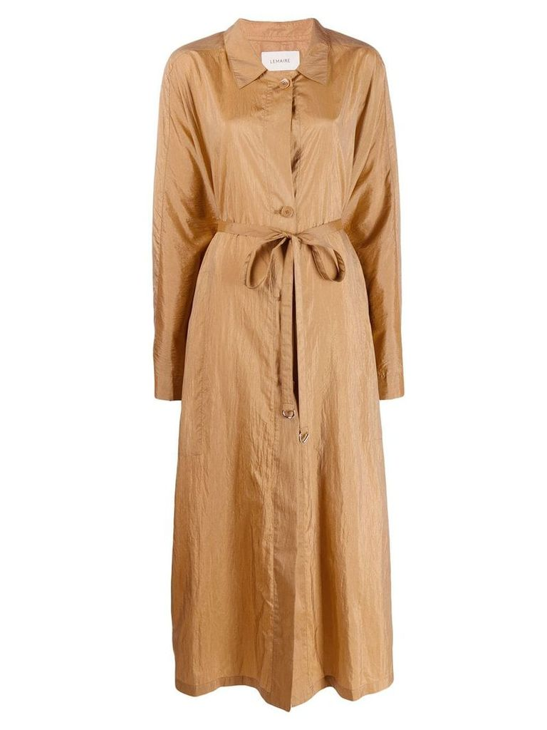 Lemaire oversized trench coat - Neutrals