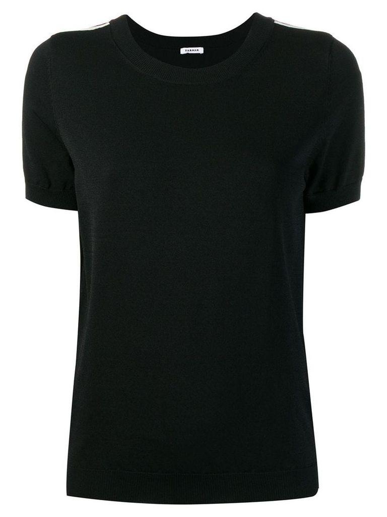 P.A.R.O.S.H. running T-shirt - Black