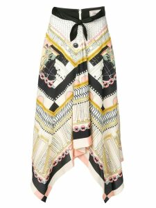 Temperley London Obelisk skirt - Neutrals